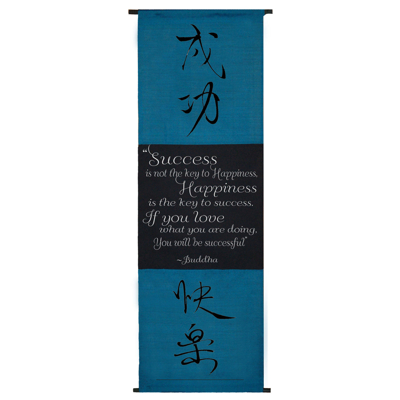 Success is not the key to happiness…  Cotton Scroll