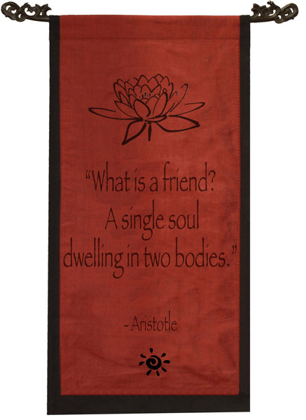 What is a friend? Cotton Scroll