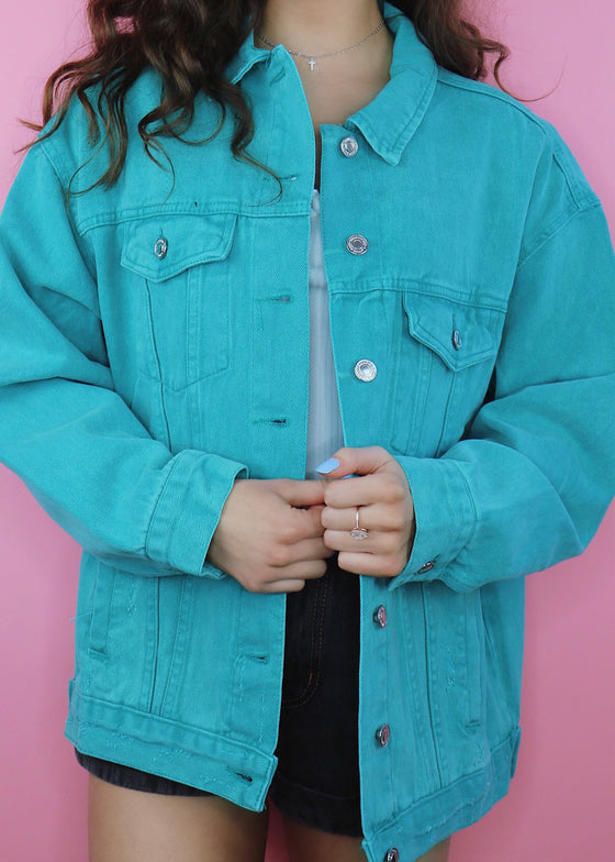 Lagoon Denim Jacket