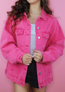Watermelon Denim Jacket