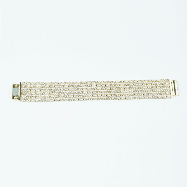 rectangle thick sparkle bracelet