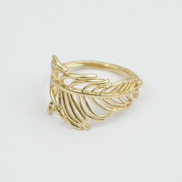 Feather ring adjustable