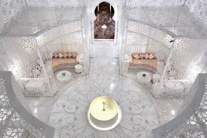 The Spa at the Royal Mansour Hotel
