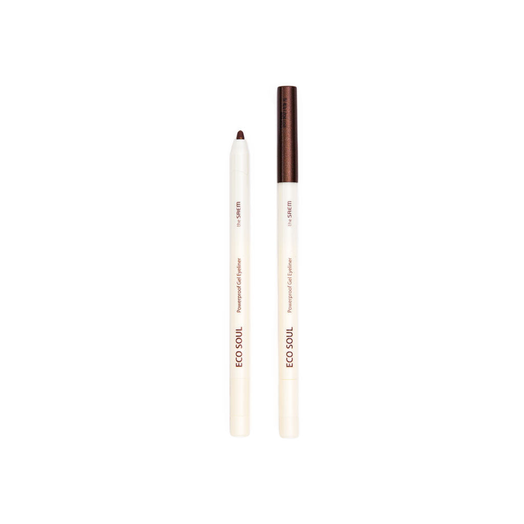 The Saem Eco Soul Waterproof Gel Eyeliner - Hot Tanning Brown