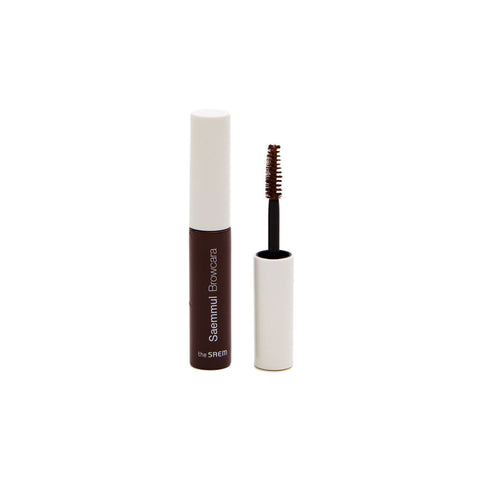 The Saem Saemmul Browcara - Red Brown