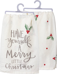 Tea Towel- Have Yourself a merry