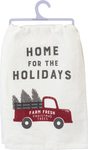 Tea Towel- Home for the Holidays