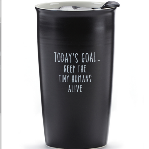 Sentiment Travel Mug- Today's Goal