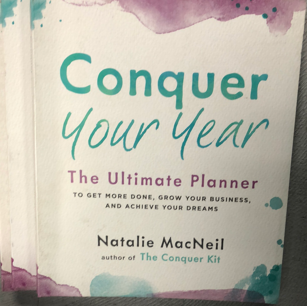 Conquer your year planner
