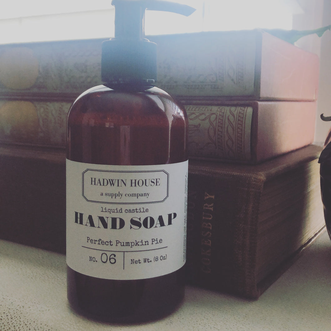 Liquid Castile Soap- Scented
