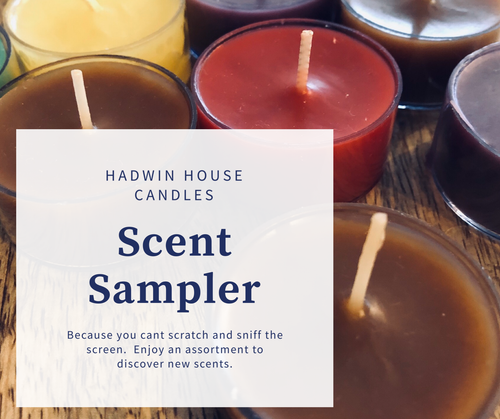 Hadwin House scent sampler