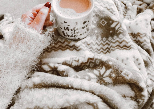 Cozy Sweater Wooden Wick Candle