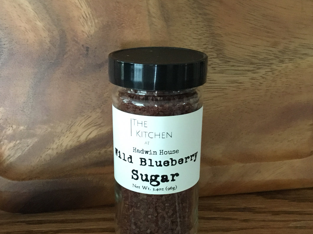 Wild blueberry sugar
