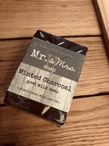 Minted Charcoal Soap
