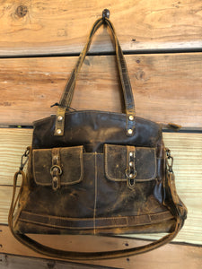 Lady's first love leather bag