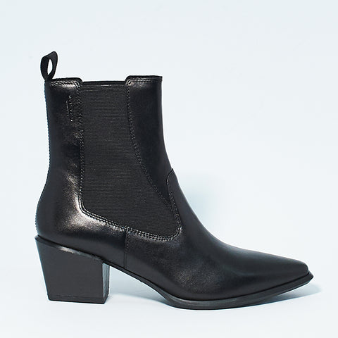 BETSY CHELSEA BOOT - BLACK