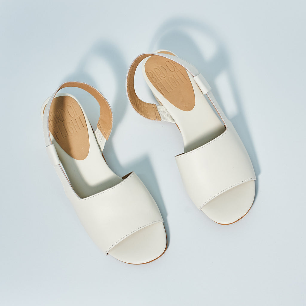 Ace Sandal by Bird of Flight in white