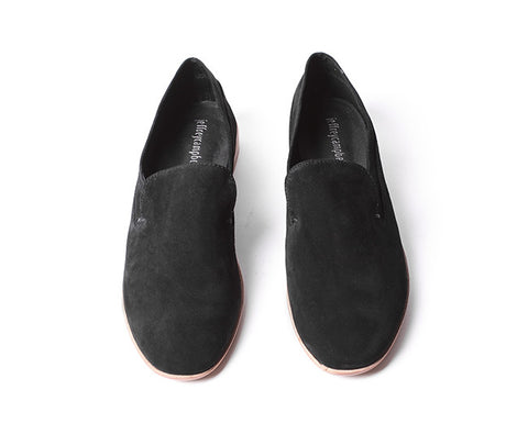 Jeffery Campbell Barkley 3 black suede - Shoe Market NYC