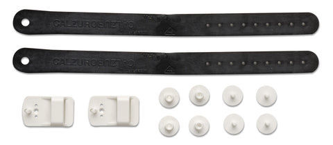 HEEL STRAP KIT - BLACK