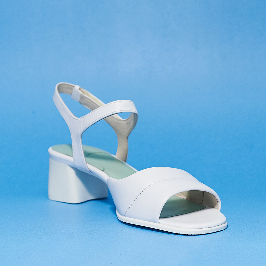 Katie Sand in White By Camper - Shoe Market NYC