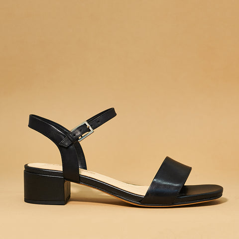 Orabella Iris by Clarks in black - Shoe Market NYC