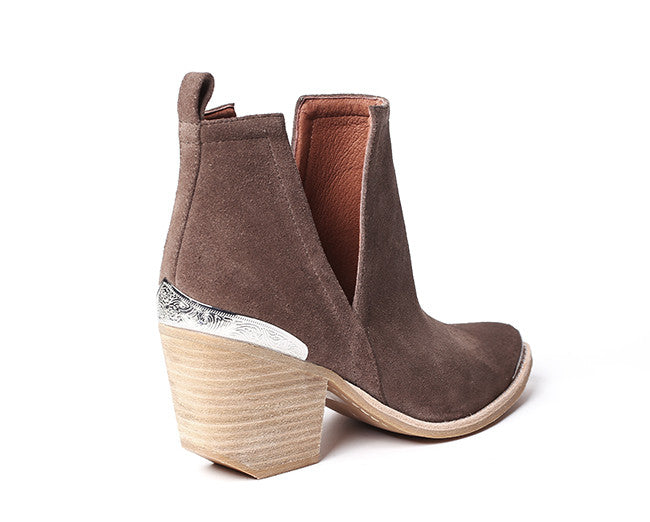 Jeffrey Campbell Cromwell Taupe - Shoe Market NYC