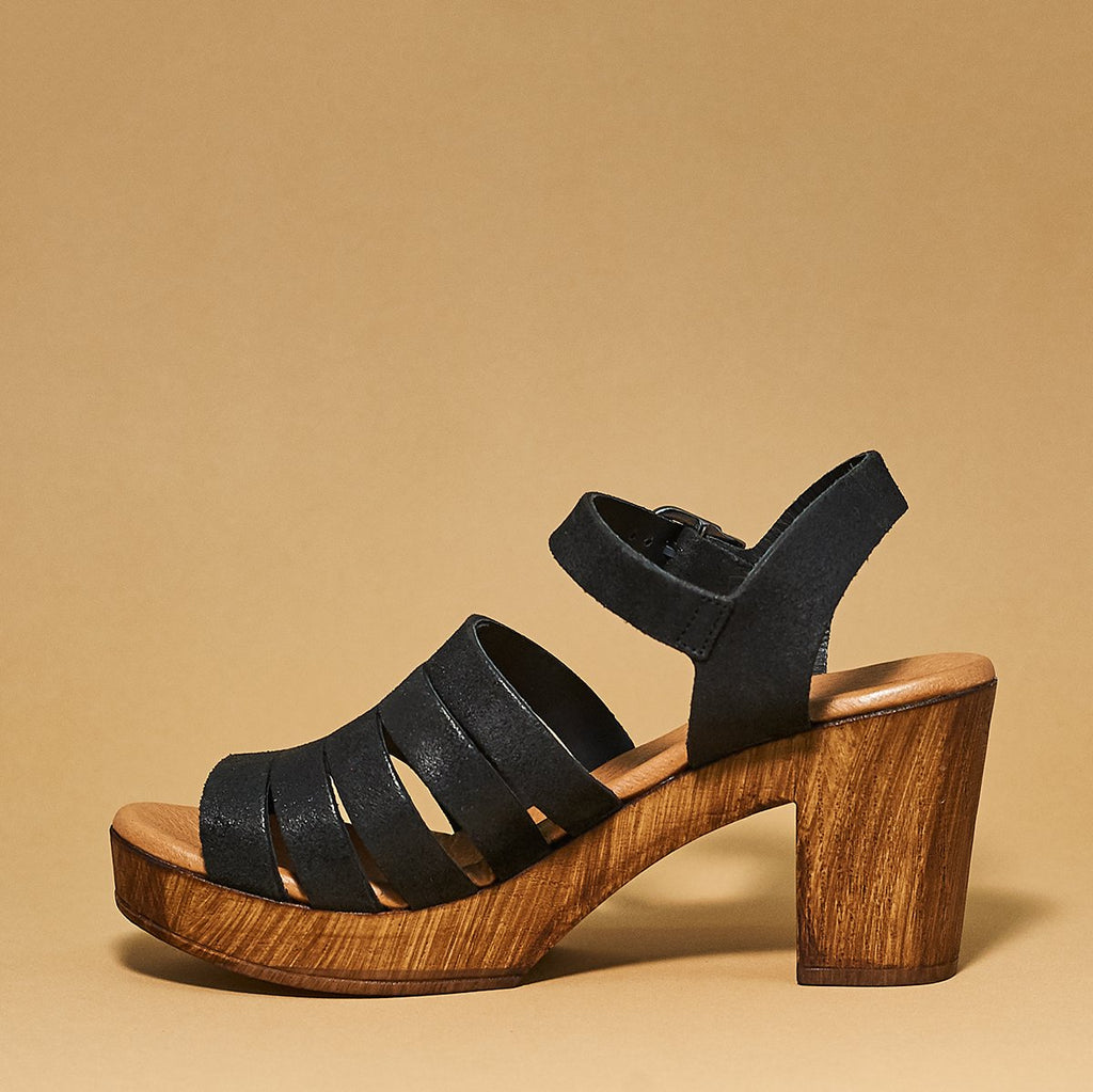 Mission platform sandal by Eric Michael - Shoe Market NYC