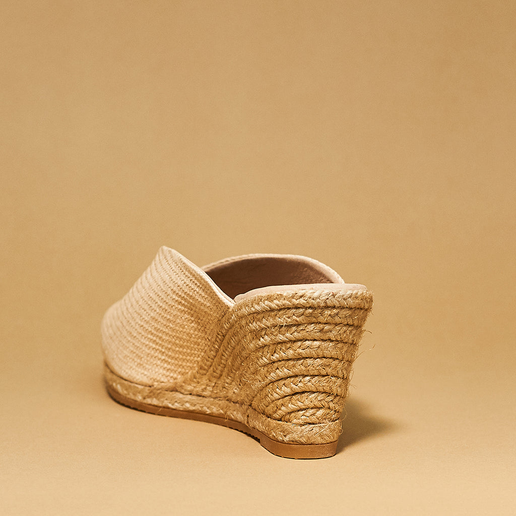 Eric Michael Collette beige woven - Shoe Market NYC
