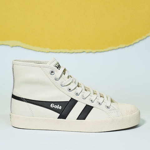Gola Classics Women's Coaster High Trainers in leather