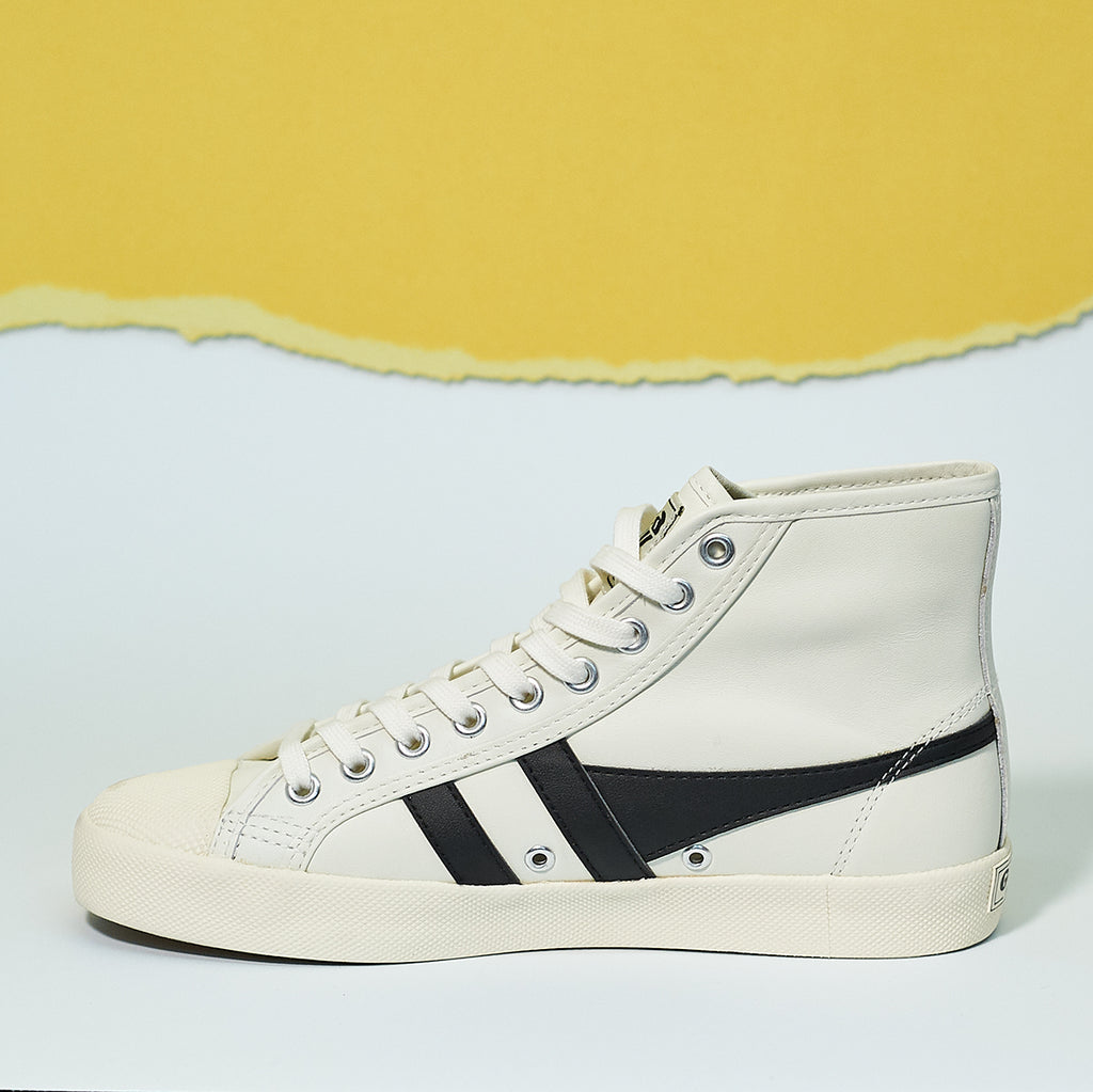 Gola Classics Women's Coaster High Trainers in leather - Shoe Market NYC
