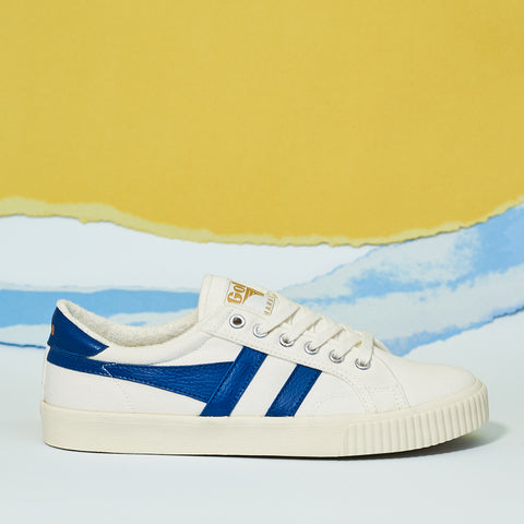 Gola Classics Men's Tennis Mark Cox Trainer in blue - Shoe Market NYC