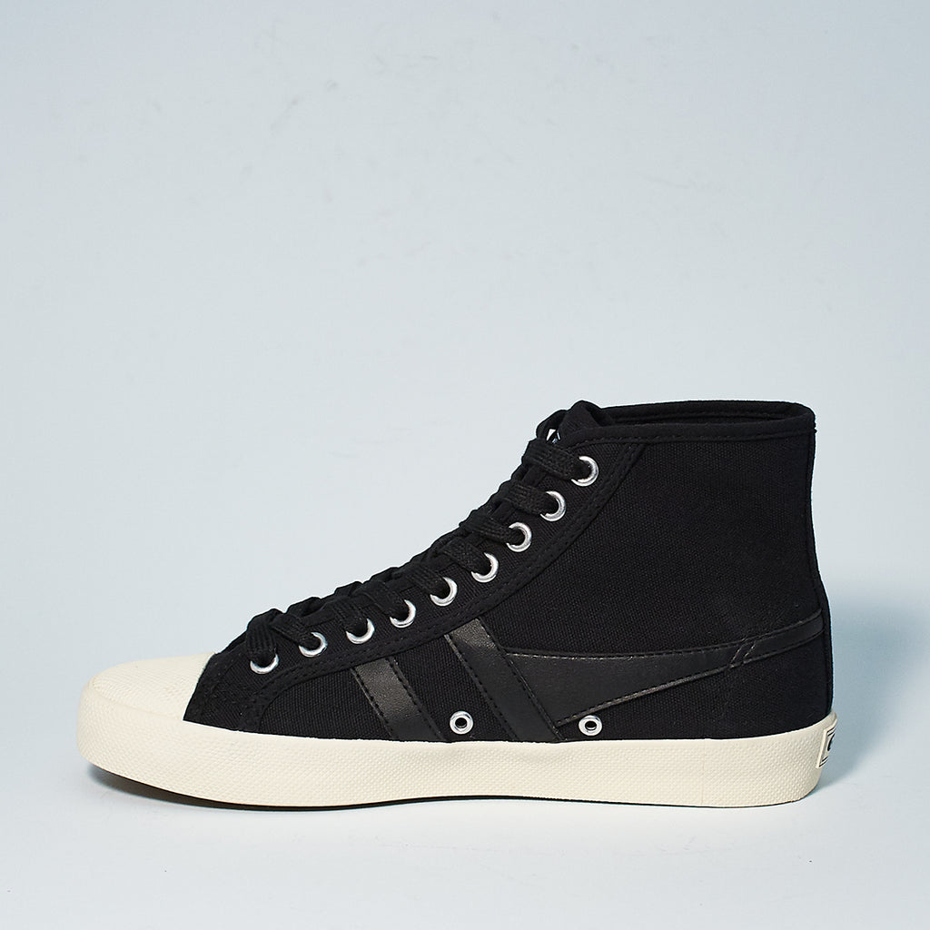 COASTER HIGH TOP CANVAS - BLK