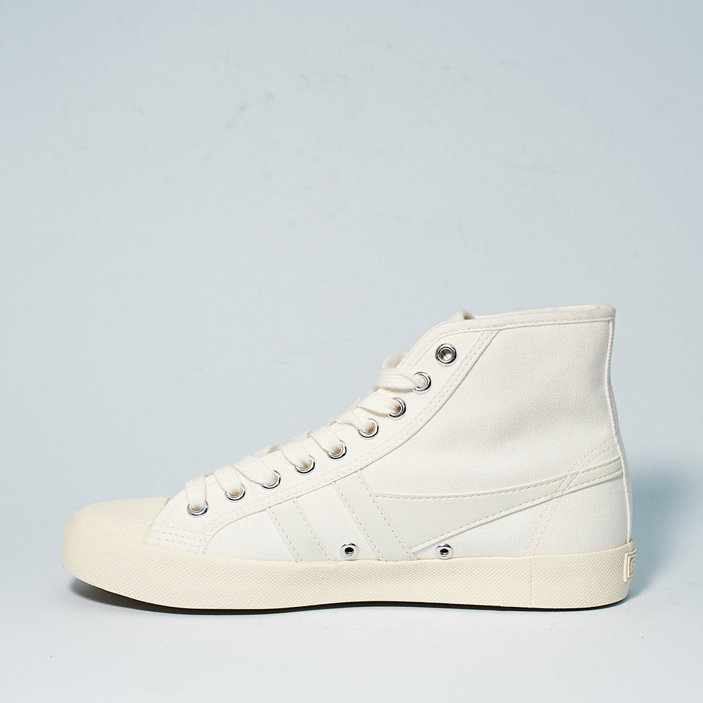 COASTER HIGH TOP CANVAS - WHIT