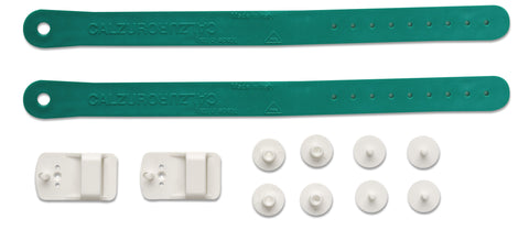 HEEL STRAP KIT - GREEN