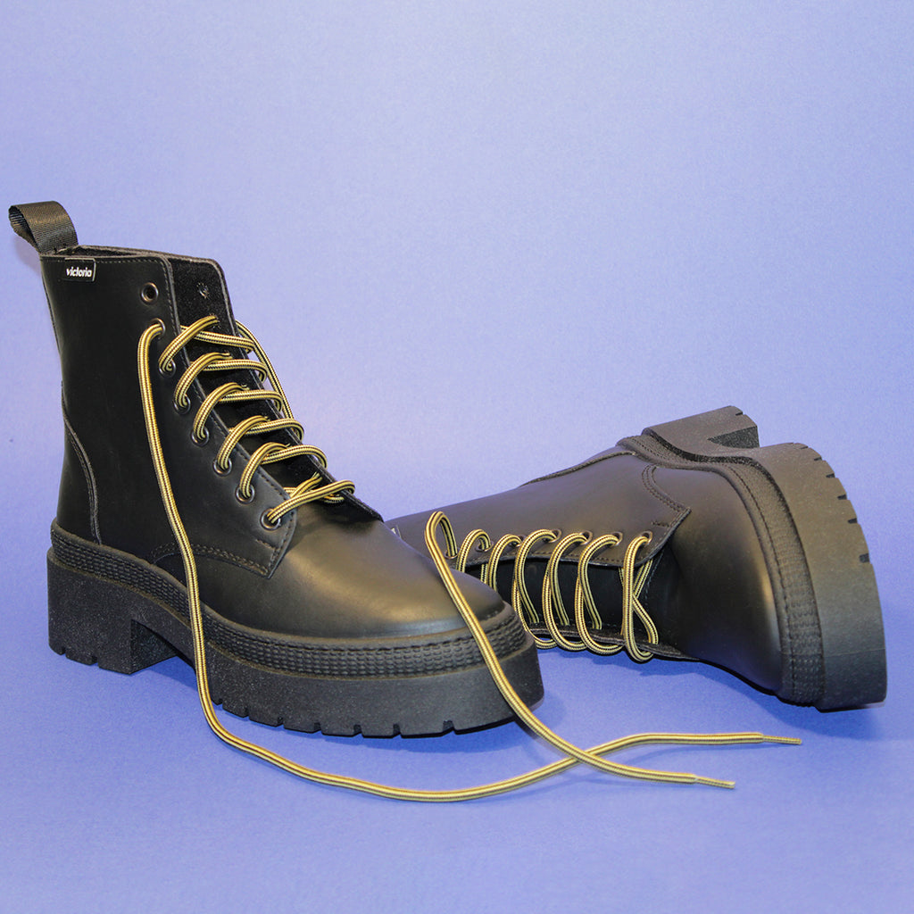VEGAN COMBAT BOOT