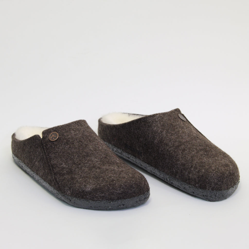 ZERMATT - MOCHA WOOL SLIPPER