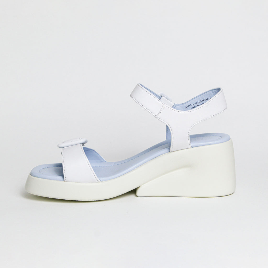 CAMPER KAAH BUCKLE  WHITE
