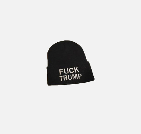 Fck Trump watch cap - Shoe Market NYC