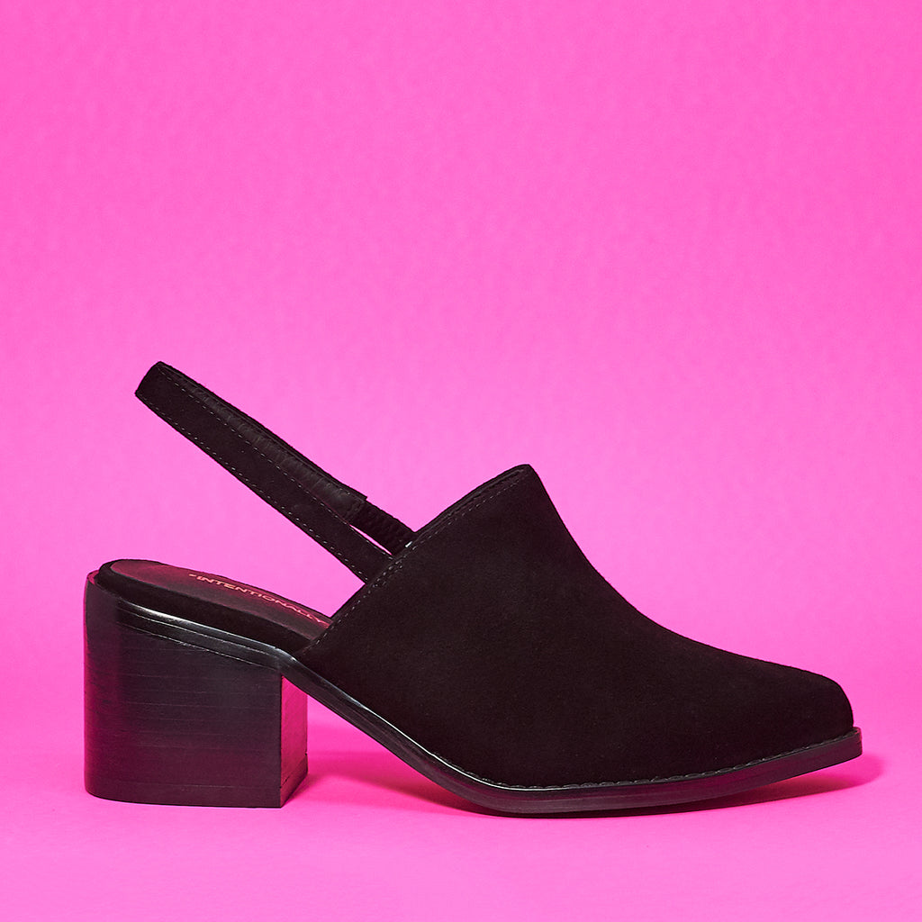 Erica suede mule by Intentionally Blank - Shoe Market NYC
