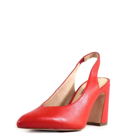 KENZIE SLING BACK PUMP - RED