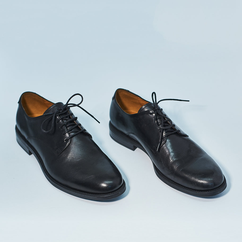 Salvatore Oxford Black Leather - Shoe Market NYC