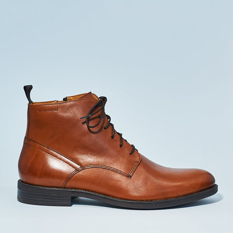Vagabond Men's Salvatore Lace boot in Cognac