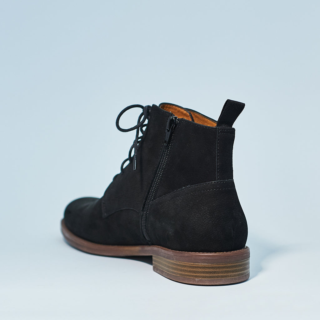 SALVATORE NUBUCK LACE UP
