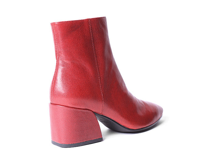 vagabond olivia boot red leather shoe market
