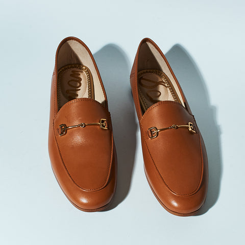LORAINE LOAFER - SADDLE