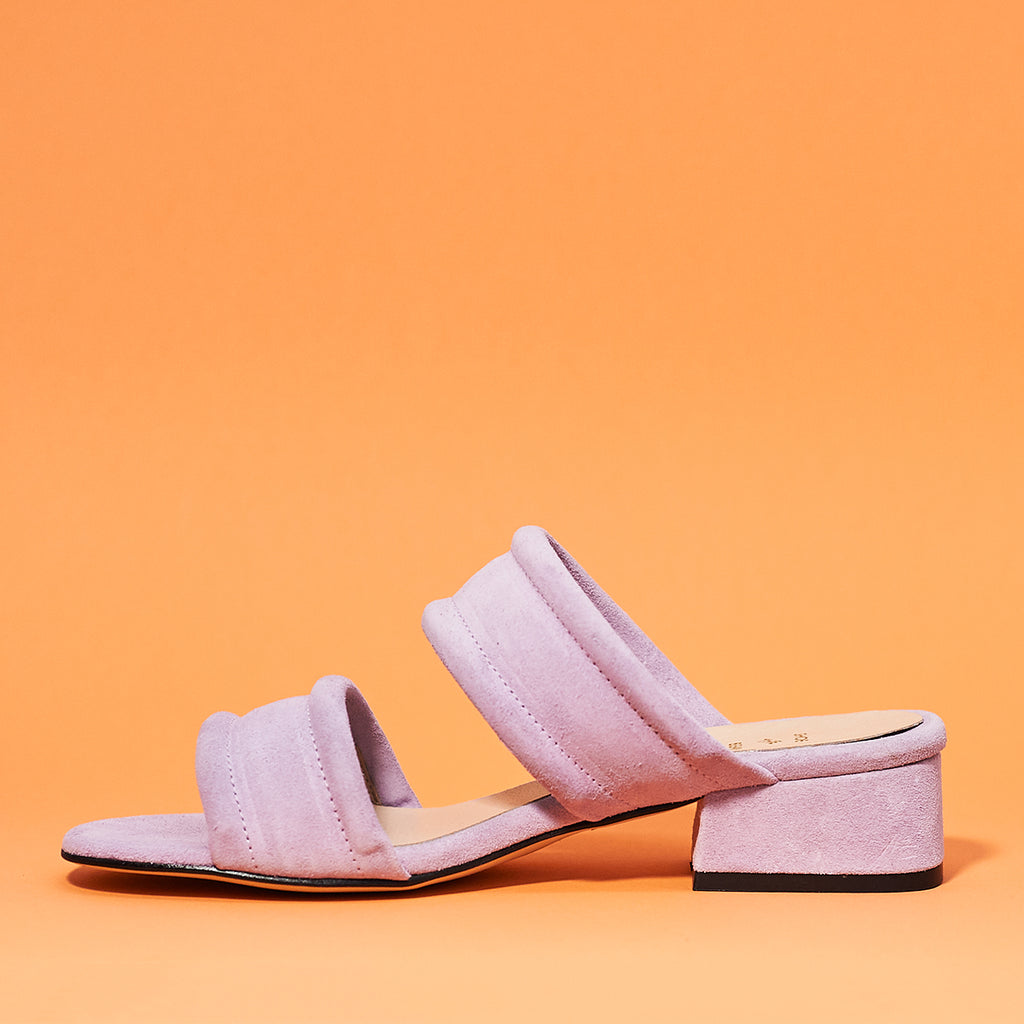 Yasmin slide by Shoe the Bear in lavendar