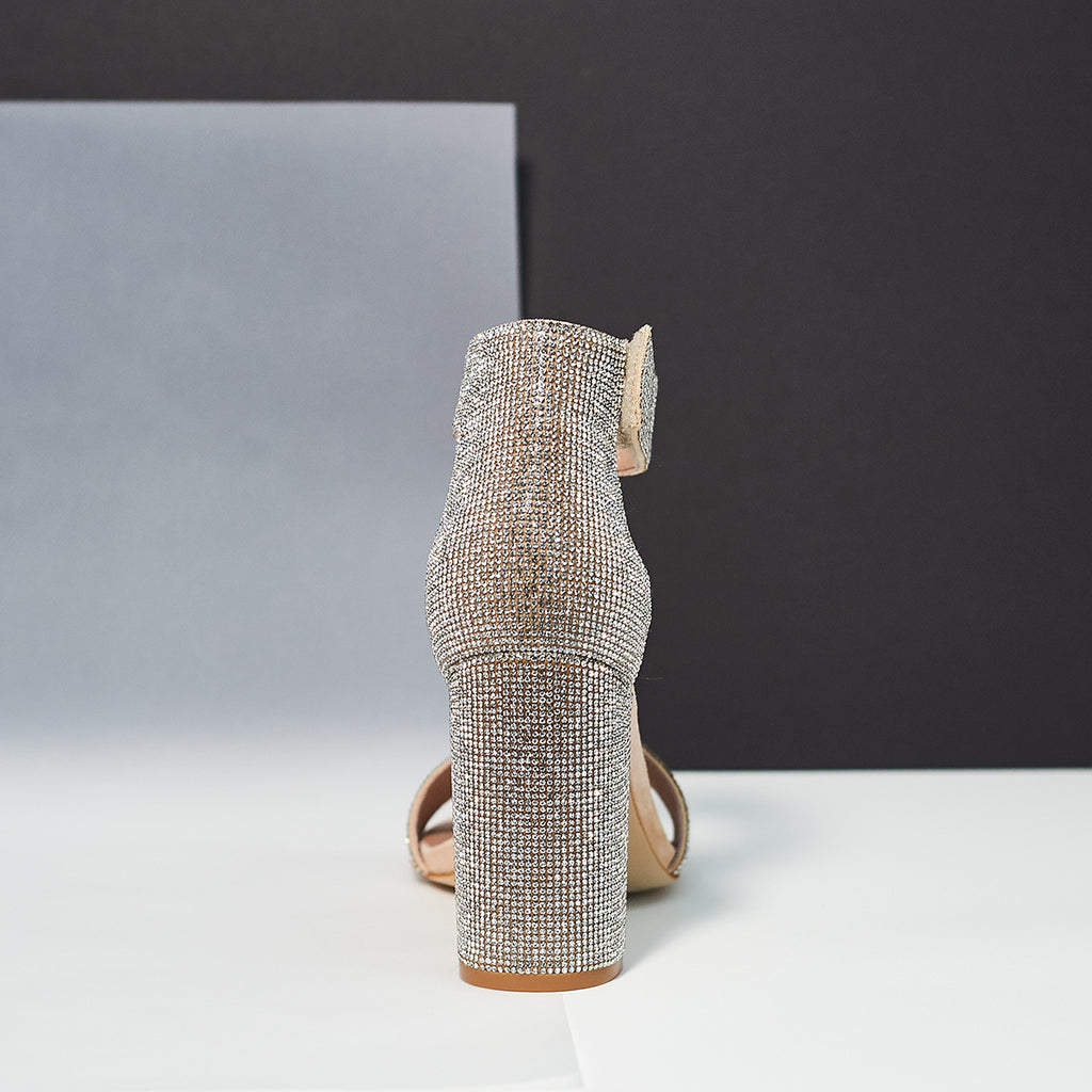 Lindsay JS in Champagne - Shoe Market NYC