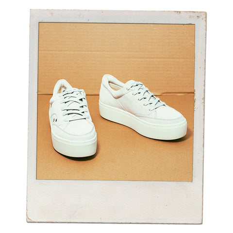 Vagabond Shoemakers Jessie retro sneaker in salt
