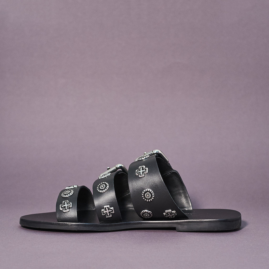 Eastwood slide by Sol Sana in black