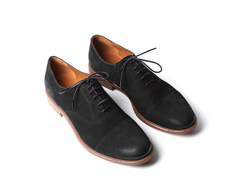 Salvatore Oxford Nubuck - Shoe Market NYC